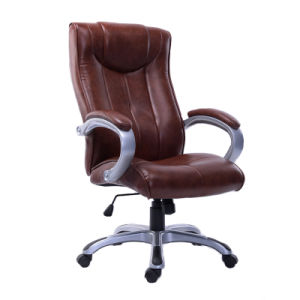 High Back European PU Metal Executive Office Boss Chair (FS-2031) pictures & photos