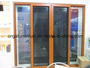 Aluminium Sliding Doors with Mosquito Net pictures & photos