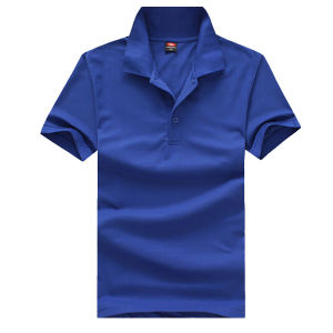 Customize Logo Brand Cheap Plain Men Polo T-Shirt pictures & photos