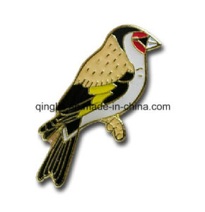 Customize Birds Shape Soft Enamel Badge Pin/Lapel Pin (QL-Hz-0019) pictures & photos