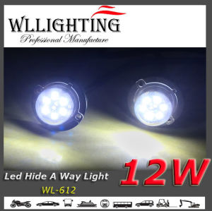 White Auto Safety Car LED Light Hide-a-Way Warning Light pictures & photos