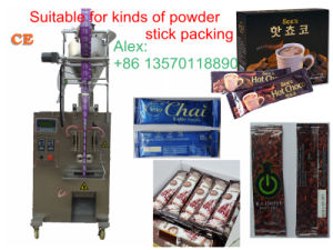 Stick-Shape 3in1 Coffee Powder Packing Machine (45 bags/min; PLC control;) pictures & photos