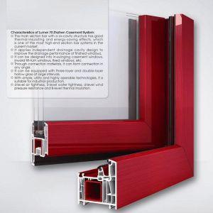 Lumei Brand UPVC Profile for Windows Plastic Profile pictures & photos