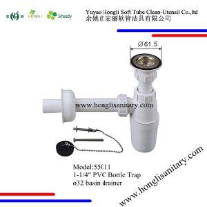 """55011 1-1/4"""" PVC Bottle Trap pictures & photos"""