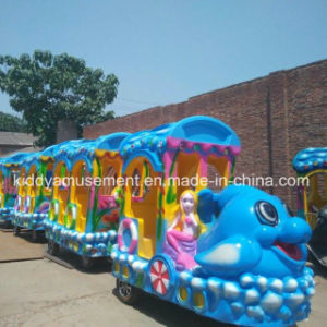 New Design Electric Car Amusement Child Train with Trackless pictures & photos