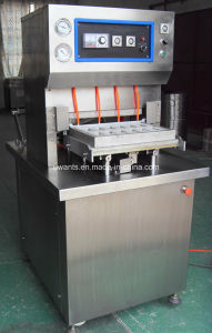 Fast Food Box Packing Machine with Gas Filling Function pictures & photos