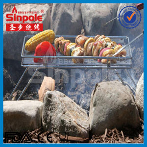 New SUS304 Stainess Steel Camping Grill with Ce/FDA Approved (SP-CGS011) pictures & photos