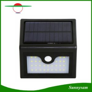 China Solar Power Waterproof PIR LED Wall Mount Garden Street Light 28PCS Lamps Motion Sensor ...