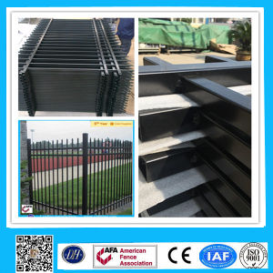 Outdoor Black Wrought Iron Steel Fence for Hot Sale Panels