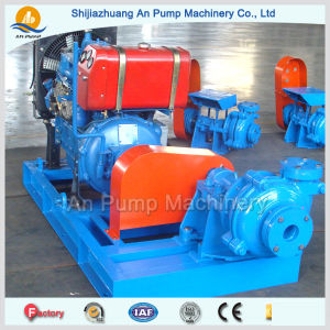Diesel Engine Driven Rubber Lined Desulphurization Circulating Slurry Pump pictures & photos