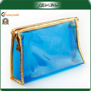 Fashion Luxury Waterproof Transparent PVC Cosmetics Hand Bag pictures & photos