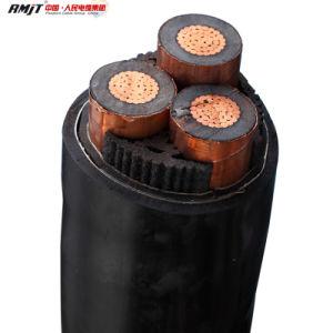 3 Cores Mediun Voltage Copper Wire XLPE Cable pictures & photos