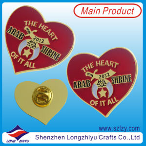 Heart Shape Badge Chaplain Badge pictures & photos