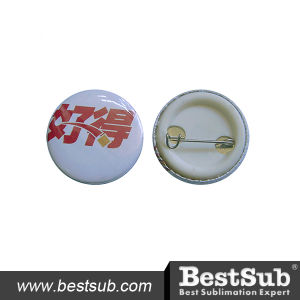 Bestsub 32mm Promotional Personalized Round Button Badge (XK32) pictures & photos