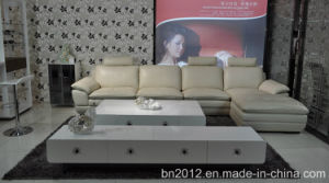 Living Room Genuine Leather Sofa (SBL-9157) pictures & photos