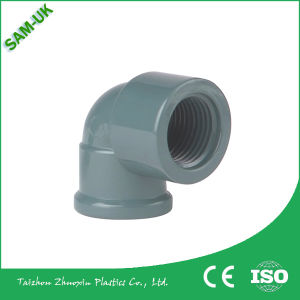 3/4, 1, 1-1/4 Inch Plastic PVC 3 Way Elbow Pipe Fittings pictures & photos