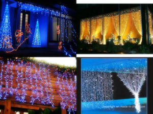 LED Curtains Lights Weding Garden Decoration pictures & photos