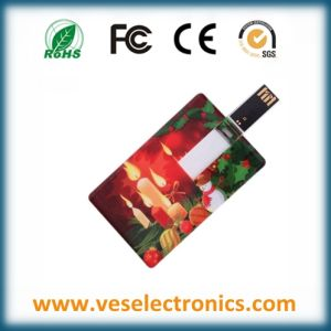 Credit Card USB Flash Drive Christmas Gift Pendrive pictures & photos