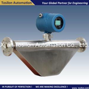China Sanitary Type Coriolis Liquid Mass Flow Meter for Milk pictures & photos