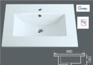 Thin Edge Ceramic Cabinet Sink/Vanity Top (A-3122) pictures & photos
