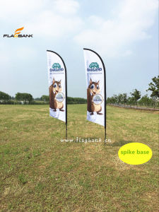 Outdoor Event Promotion Custom Polyester Feather Flag/Flying Flag pictures & photos