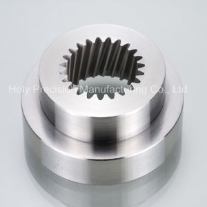 CNC Lathe Machining Part for High Polished Aluminum Parts pictures & photos