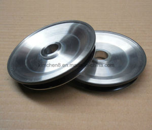 Aluminiunm Pulley/Chrome Oxide Rod Ceramic Coated Pulley for Copper Wire pictures & photos