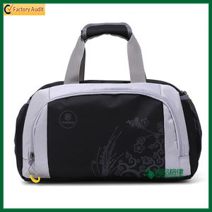Custom Double Zipper Travel Duffel Bags (TP-TLB033) pictures & photos