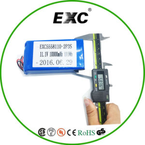 5558110 2p3s 11.1V Battery 10000mAh Lithium Polymer Battery Pack pictures & photos