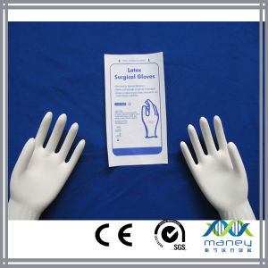 Disposable Medical Surgical Latex Gloves (MN-LG0002) pictures & photos