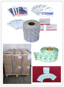 Aluminium Foil Paper for Alcohol Swabs pictures & photos
