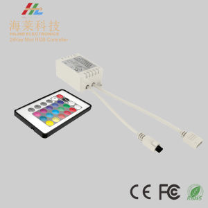 24key RGB LED Controller with IR Remoter pictures & photos
