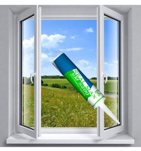 Transparent Adhesive Silicone Glue for Window Frame