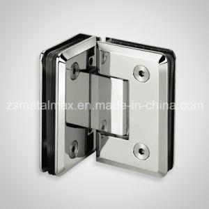 Brass 90 Degree Glass Clamp Shower Door Hinge (YH407) pictures & photos