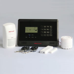 GSM Alarm System with LCD Display and Touchkeypad M2bx pictures & photos