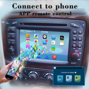 Carplay Anti-Glare Android System Car Video for Benz GPS Navigator Android 7.1-2+16g pictures & photos