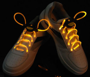 Custom Neon Charming LED Shoelace pictures & photos