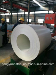 0.39/1000mm White Color Coated Galvanized Steel Coil PPGI pictures & photos