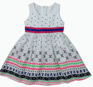 Fashion Girl Dress, Popular Children Clothing (SQD-134) pictures & photos