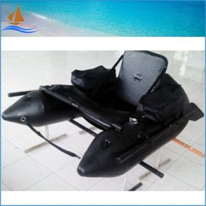 One Person Black Color Inflatable Boat for Fishing pictures & photos