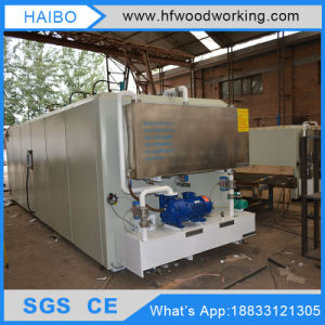 Combination Woodworking Lumber Machine Hf Vacuum Wood Drying Kilns for Sale pictures & photos