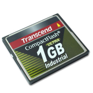 Transcend Ultra 1GB Compactflash CF Compact Flash Industrial Memory Card pictures & photos