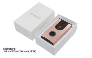 WiFi Anti-Theft Audio Video Door Phone Smartphone APP Video Door Phone Intercom System with Indoor Dingdong pictures & photos