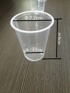 Wholesale Custom ISO22000 FDA Transparent Plastic 7oz Cup pictures & photos