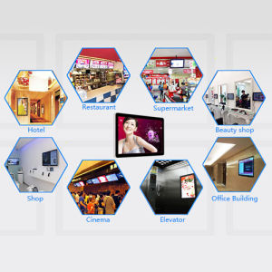 Hot Sale Wall-Mounted Single Version Advertising Machine pictures & photos