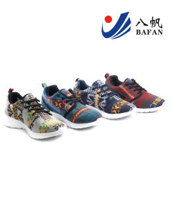 Men Fashion Casual Canvas Flat Running Travlling Shoes (bfm391) pictures & photos
