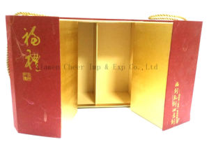 Specialty Paper Hardbound Box for Wine pictures & photos