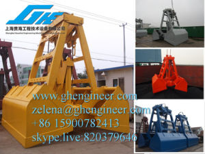 Crane Clamshell Grab Hydraulic Grab pictures & photos