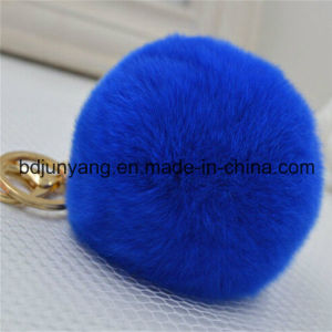 Top Quality Popular Real Rabbit Fur Ball for Decoration pictures & photos