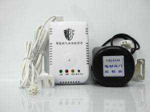 Intellegent LPG Gas Detector with Mechanical Valve for Home Safety